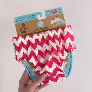 CHARLIE BANANA . Cloth Swim Diaper